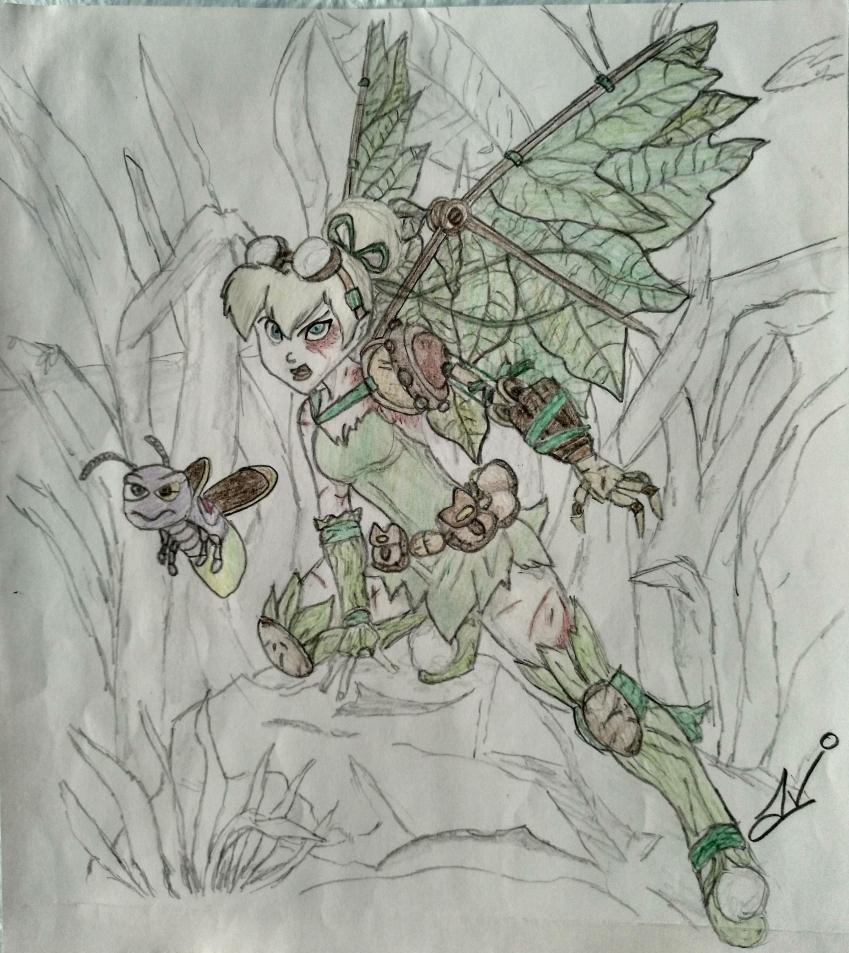 Tinker Bell by Nereaaj